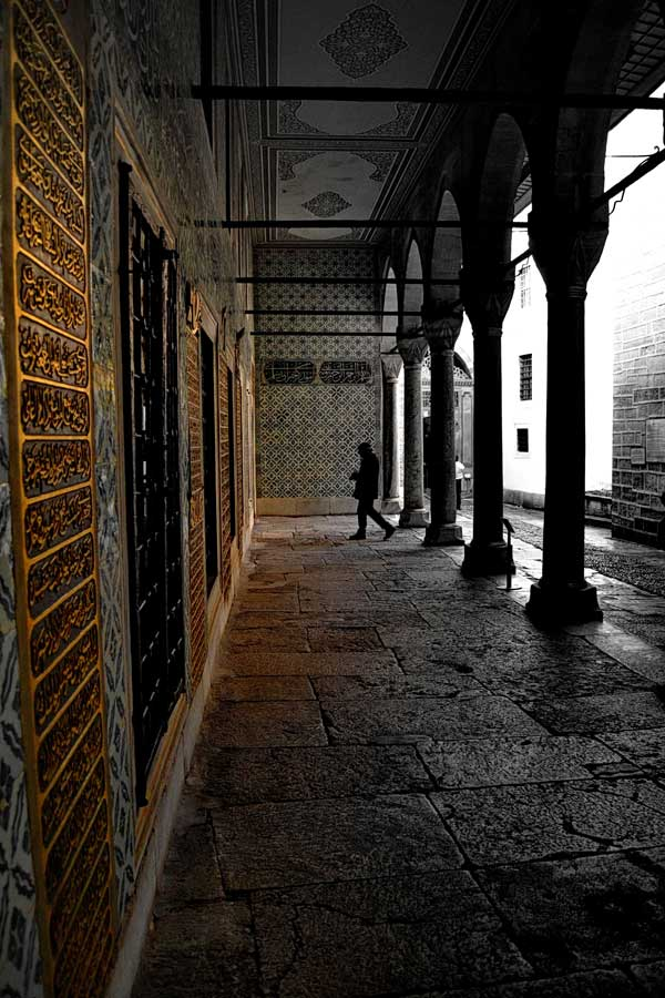 Topkapı Sarayı Haremi Kara Ağalar Taşlığı - Topkapı Palace Harem Section Black Eunuchs' barracks courtyard