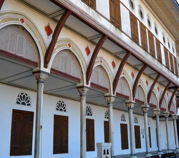 Topkapı Sarayı Mabeyn Dairesi, Gözdeler Taşlığı ve odaları - Topkapı Palace Harem Section Mabeyn Apartments and Sultan's Favorite Concubines' Chambers