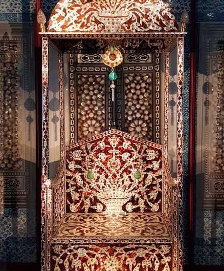 Topkapı Sarayı Revan Köşkü Arife Tahtı fotoğrafları (Sultan 1. Ahmet Tahtı) - Topkapı Palace Revan Kiosk Arife Throne (Sultan 1. Ahmet Throne)
