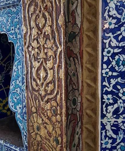 Topkapı Sarayı Revan Köşkü çinileri ve bezemeleri - Topkapı Revan Kiosk tiles and decorations