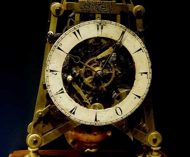 Topkapı Sarayı Saat Koleksiyonu İskelet Masa Saati 19.yy - Topkapı Palace Clock Collection Desk Clock 19. century